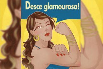 'Meme' da internet incorpora a fusão do feminismo com o funk. / Reprodução