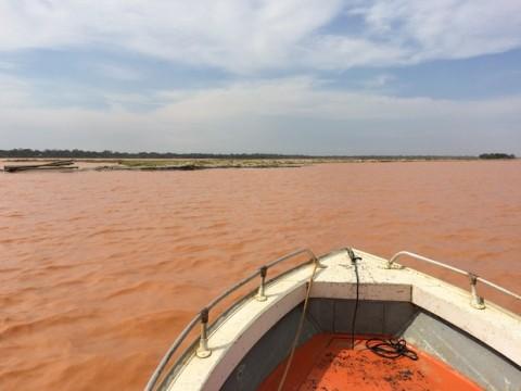 Foz do Rio Doce em novembro de 2015