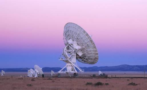 As antenas do Very Large Array (VLA), nos EUA. Cordon Press